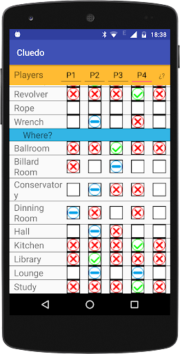 Cluedo Notepad 7.4 screenshots 5