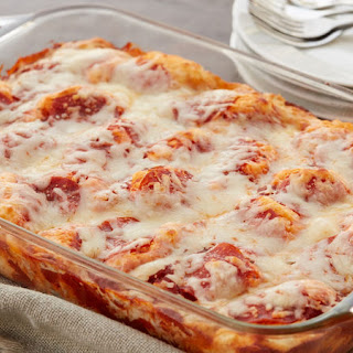 Pizza Biscuit Bake.