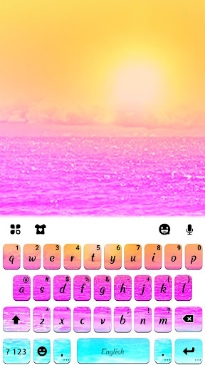 Beach Party Keyboard Theme hack tool