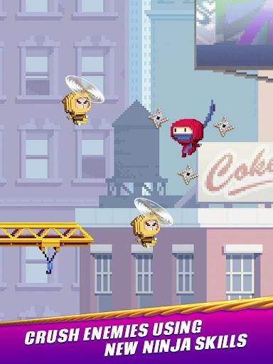 Ninja Up! - Endless arcade jumping  screenshots 8