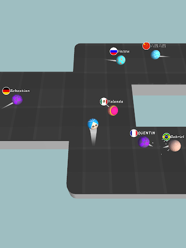 Bouncy.io - screenshot