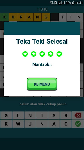 TTS Asli - Teka Teki Silang Pintar 2020 Offline 1.0.11 screenshots 7
