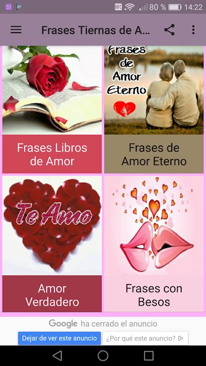 Frases Tiernas De Amor Frases De Amor Hermosas Android
