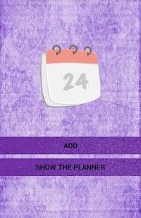 Planner (Ajanda) - náhled