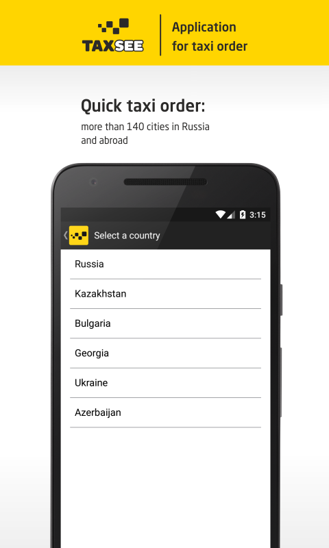 Taxsee taxi order android apps on google play - Order a cab ...