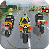 Chained Moto Bike Attack Racing Game