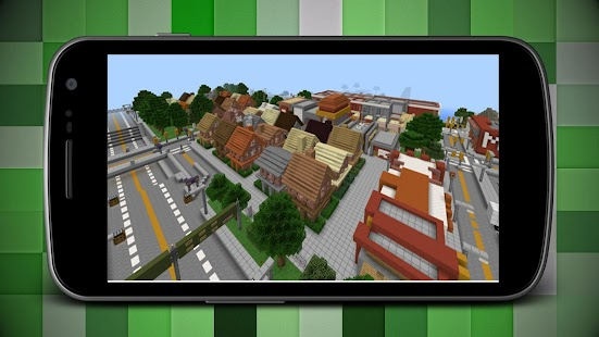 City of Angels Map for MCPE - náhled
