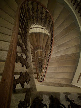 Photo: Interesting spiral staircase at Thi's place (for Charlotte).