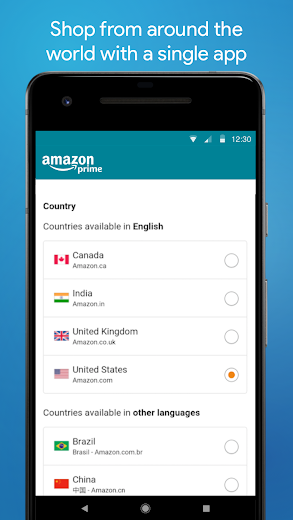 Screenshot 3 for Amazon's Android app'