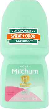 Mitchum Roll On Deodorant - Powder Fresh, 150ml