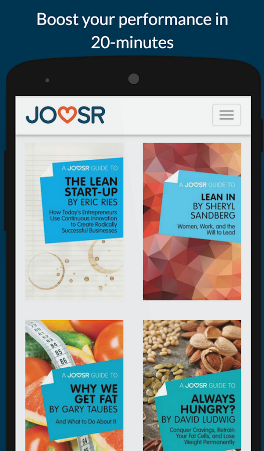 Joosr Book Summaries- screenshot