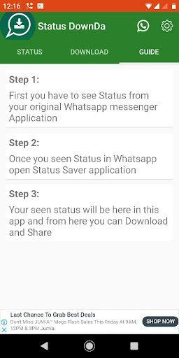Fast Status Viewer Status Downloader App Report On Mobile