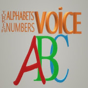 Voice Turkish Alphabet and Numbers Application