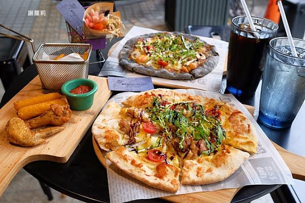 幸福PIZZA1號店。只要150元,吃食尚玩家也推薦的純手工龍眼木窯烤披薩,還有美美的浪漫乾燥花!