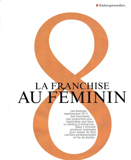 FEMMES ET Franchise : le figaro Entrepreneurs