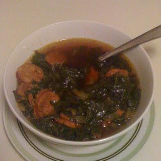 Kale + Sausage Soup