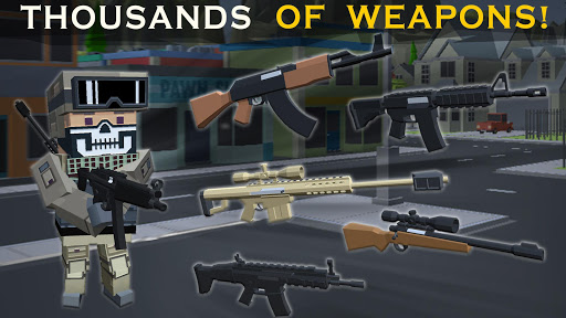 Shooting RULES OF BATTLE: Royale Online Pixel FPS 1.7 screenshots 7