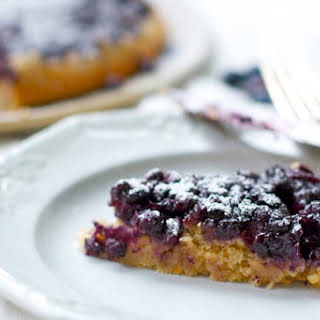 Orange Blueberry Pecan Cake.