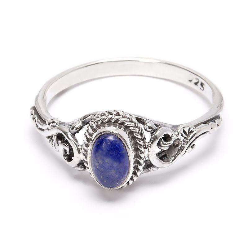 Lapis Lazuli, filigrandekorerad ring