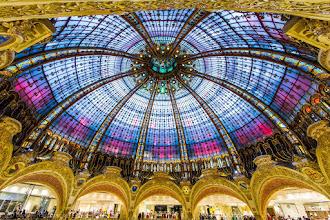 Photo: Rainbow_of_Lafayette, Galeries Lafayette, Paris, France