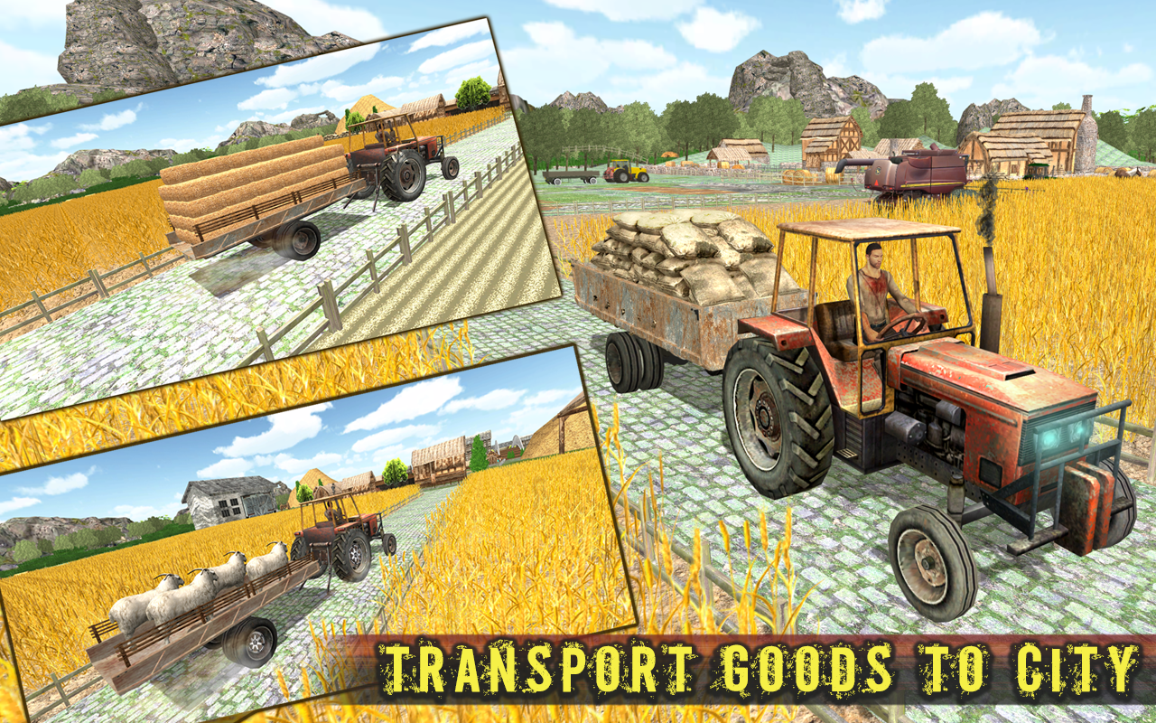 Tractor Simulator 3D:Farm Life- screenshot