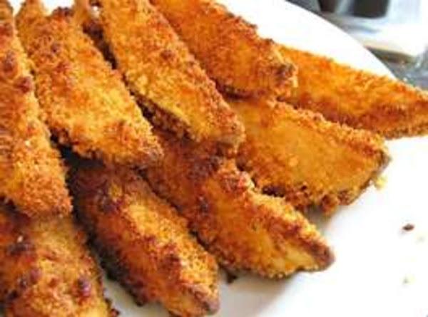 Oven Fried Potato Wedges Recipe