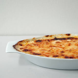 Potatoes au Gratin.