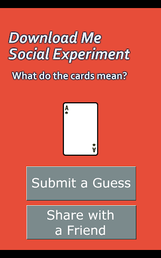 Download Me Social Experiment