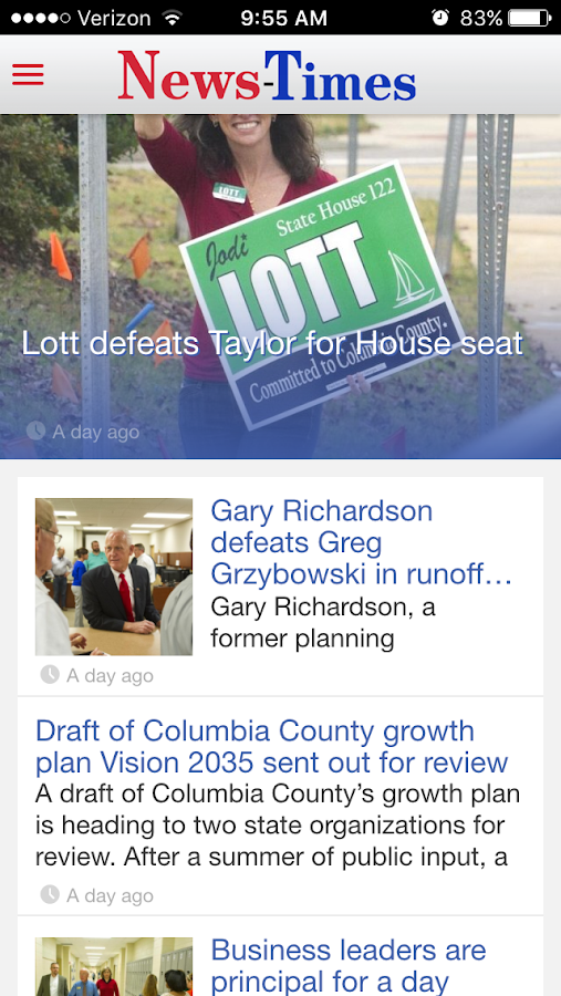 The Columbia County News-Times- screenshot