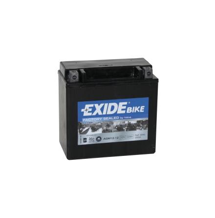 Tudor Exide AGM batteri 12V/12Ah