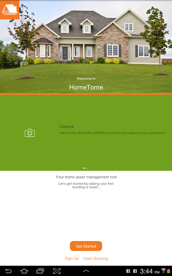 HomeTome-Home Content Manager- screenshot