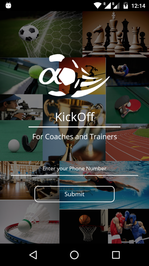 KickOff - Coaches & Trainers- screenshot