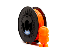 Safety Orange NylonG Glass Fiber Filament - 1.75mm (0.5kg)