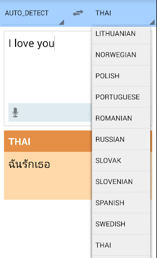 Translator Language Dictionary