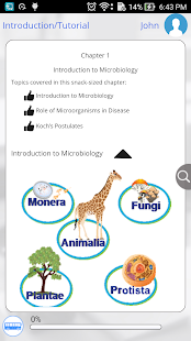 Learn Biology and Microbiology- screenshot thumbnail