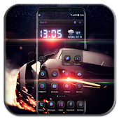 Racing Car Launcher Theme 2018