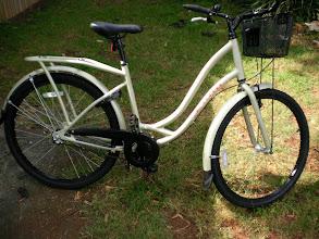 Photo: New bike donated through Race Pace
