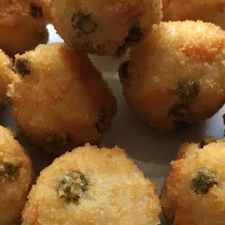 Deep-Fried Rice Balls.