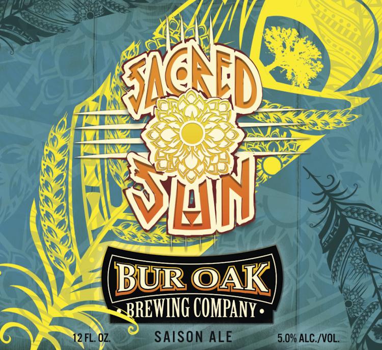 Logo of Bur Oak Sacred Sun Saison