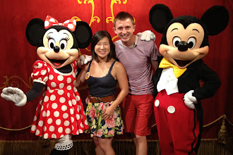 Photo: With Mickey & Minnie http://ow.ly/caYpY