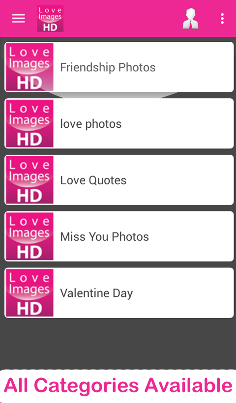 Love Images HD- screenshot