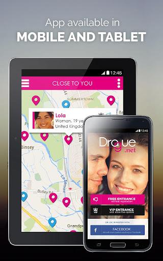 DRAGUE.NET : free dating, chat and flirt 2.4 screenshots 9