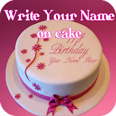 Cake with Name wishes - Write Name On Cake