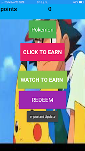 Pokemon Earn - náhled