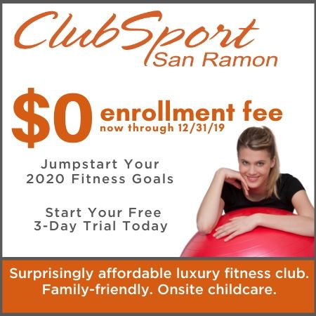 ClubSport San Ramon New Member Special - $0 Enrollment until 12/31/19