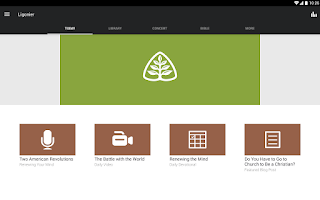 Screenshot of Ligonier Ministries