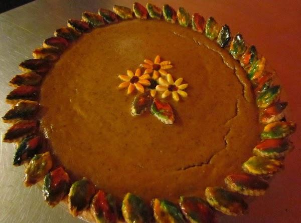 Painted Pie Crust Decorations Recipe