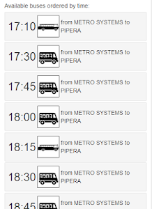 Metro Systems Shuttle Bus screenshot 1