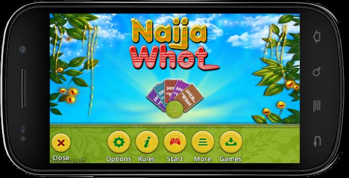 NaijaWhot Free, UNO Card Game.