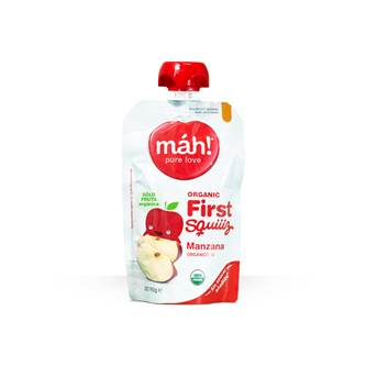 Compota Mah Manzana  Organico Flexible 90Gr